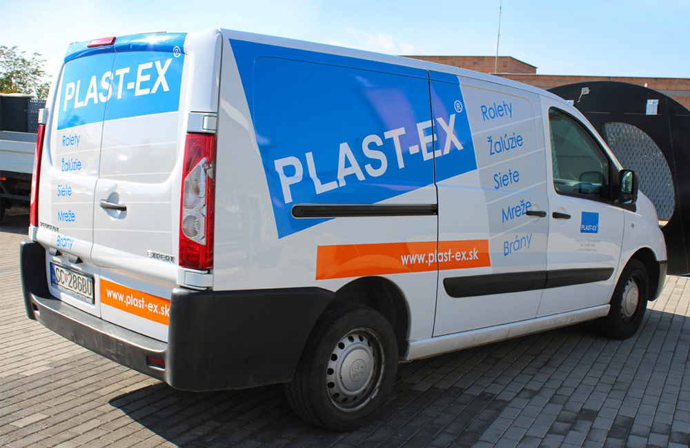 Plastex • rebranding áut